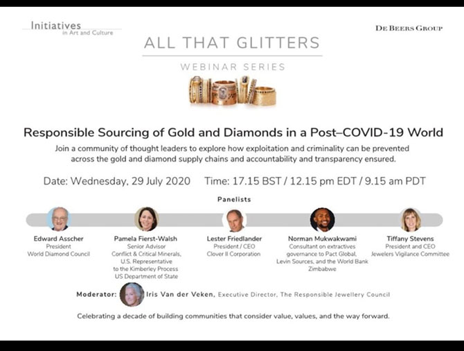 Responsible Gold Sourcing webinar