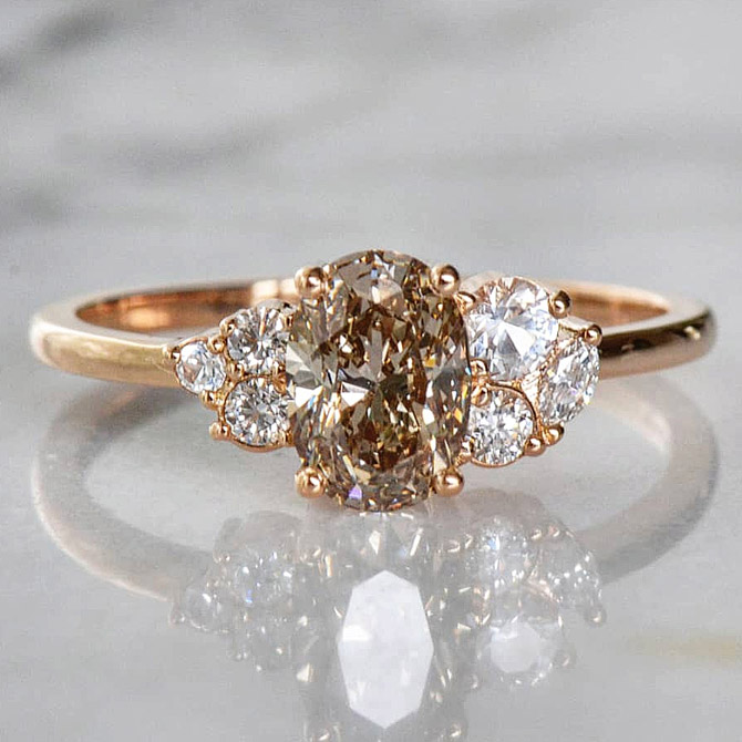 Layla Kaisi cluster ring