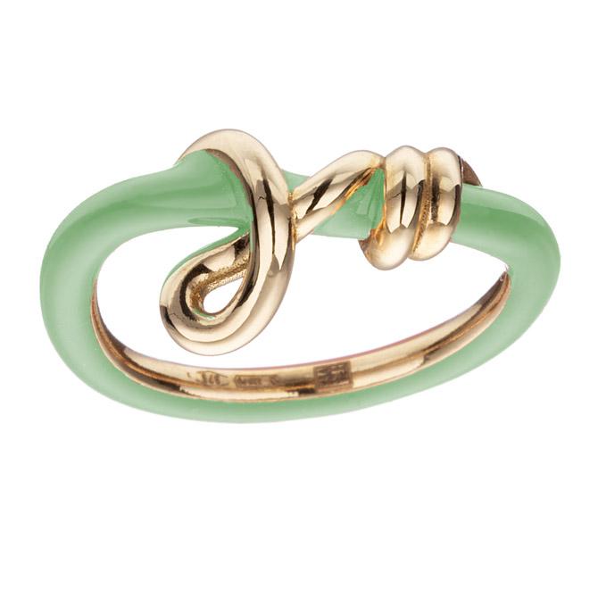 Bea Bongiasca baby Vine Curl ring
