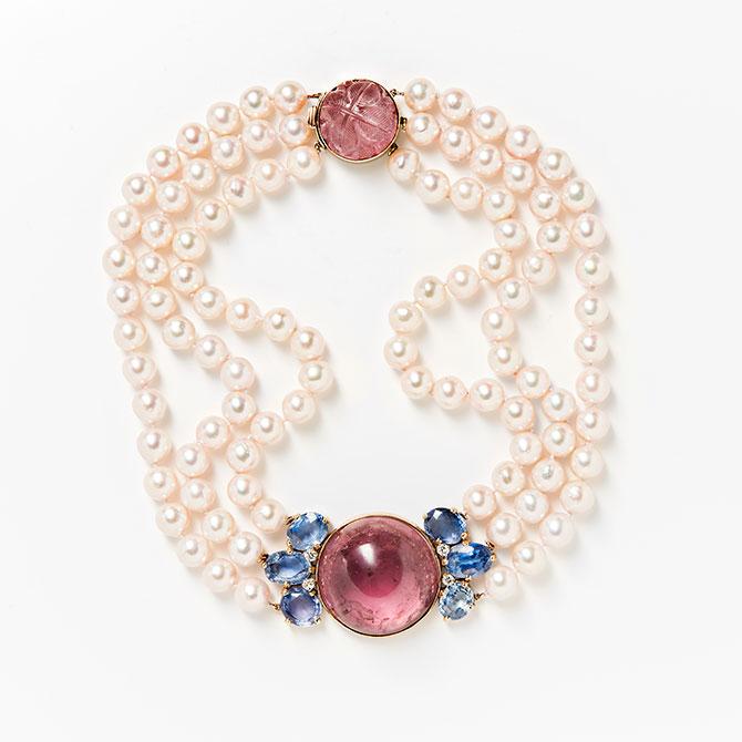 Seaman Schepps pearl necklace