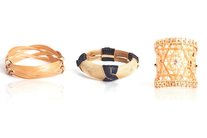 Silvia Furmonovich Bamboo bracelets