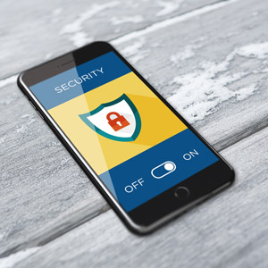 phone security stock image