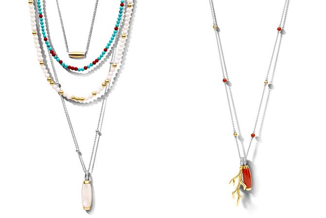 Ti Sento layered necklaces