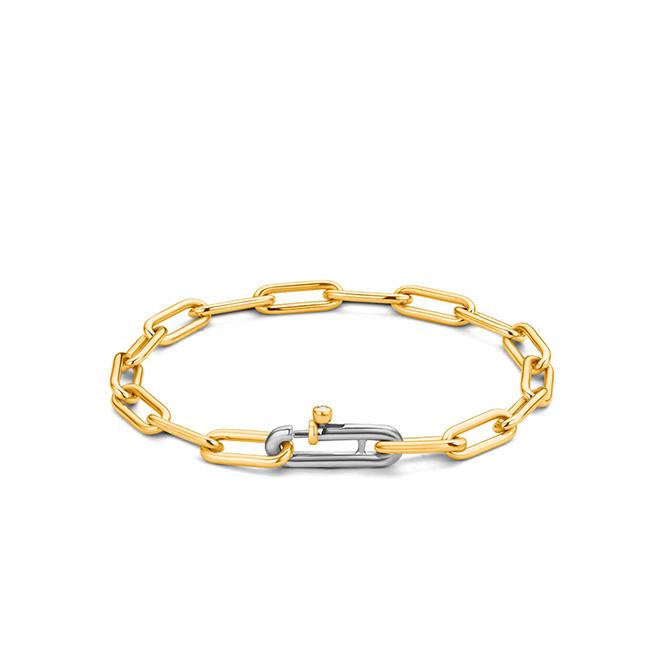 Ti Sento paper clip bracelet