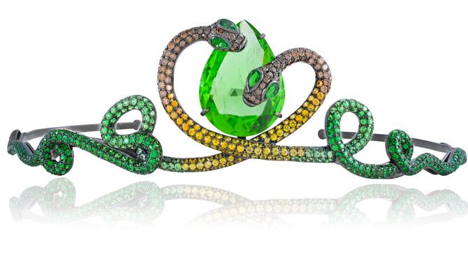 Lydia Courteille serpent tiara