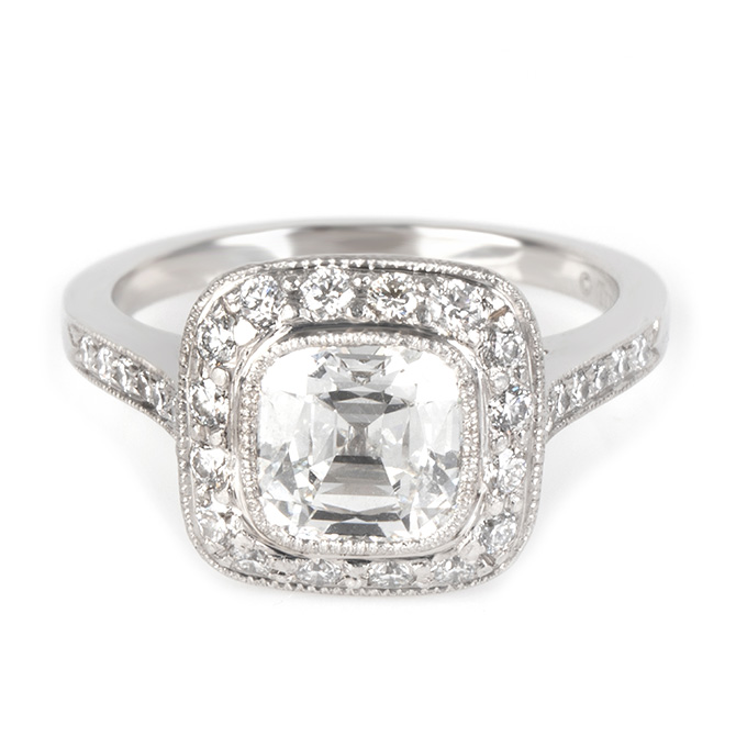 Tiffany Legacy diamond ring