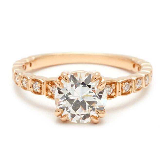 Anna Sheffield Wheat engagement ring