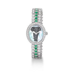 Backes and Strauss x Gemfields watch
