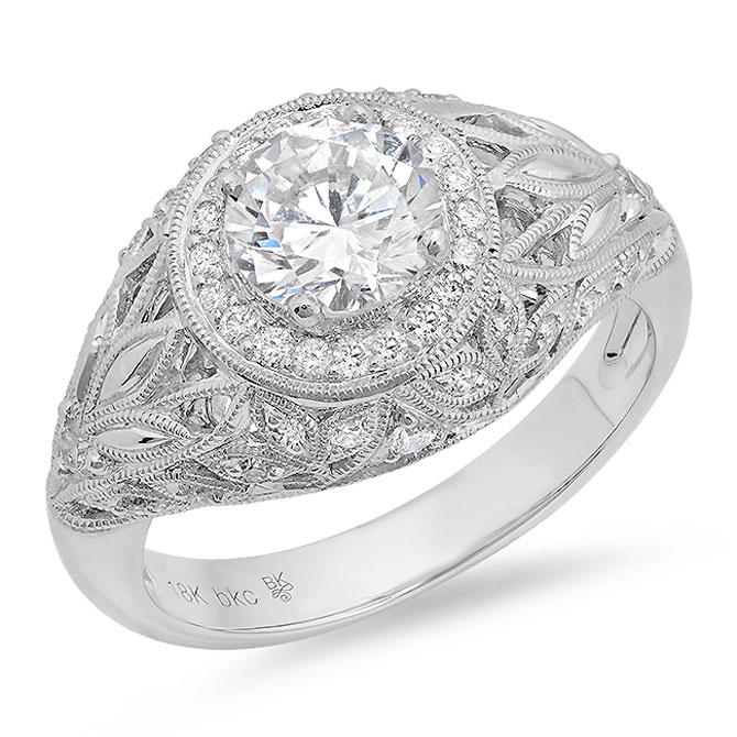Beverley K diamond engagement ring
