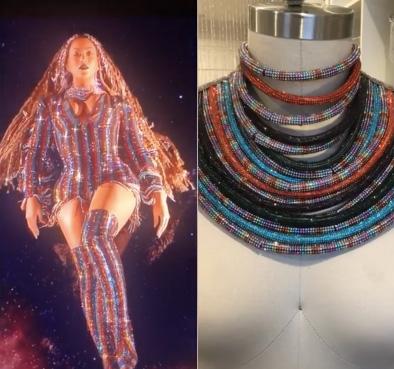 Beyonce Laurel DeWitt necklaces