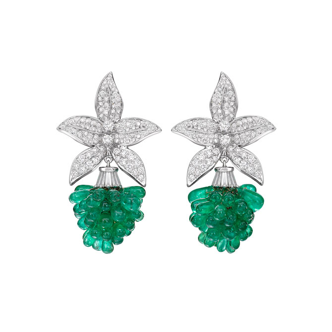 Bina Goenka x Gemfields earrings