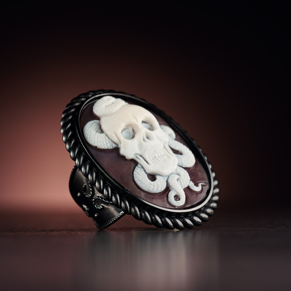 Cameo Italiano Zeus ring