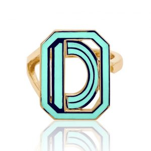 Colette Gatsby initial ring
