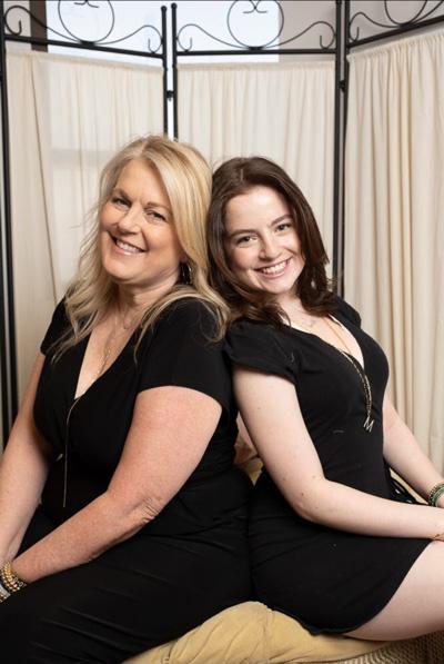 Dee Berkley and daughter