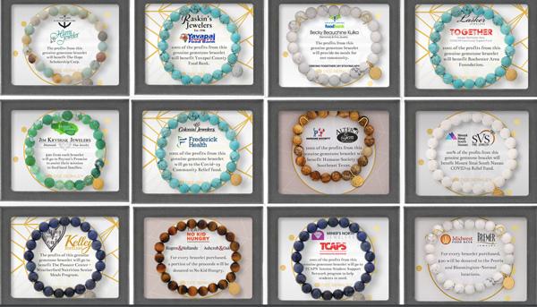 Dee Berkley community support bracelets