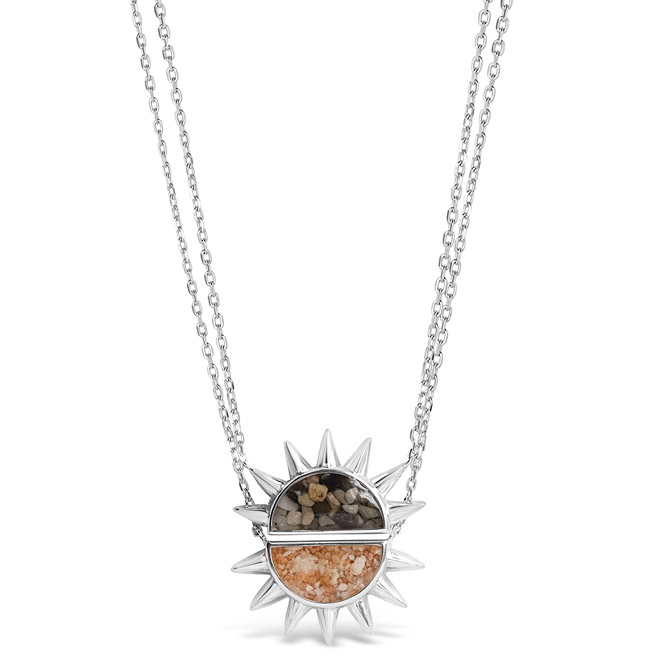 Dune Jewelry Share the Sun friendship necklace