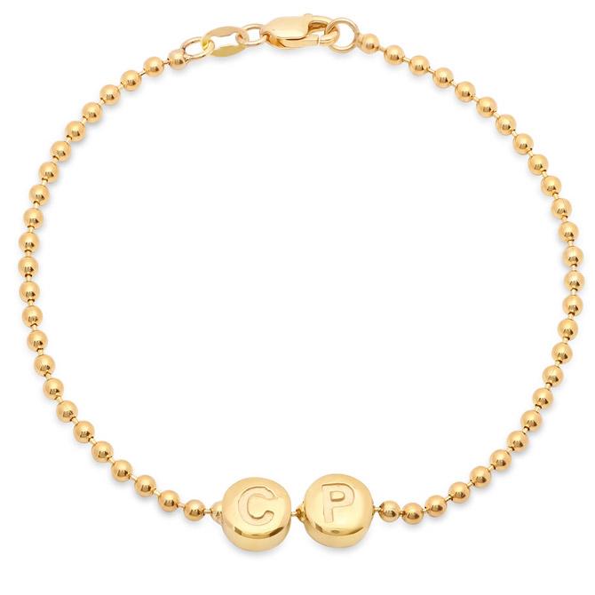 Established initial bead bracelet