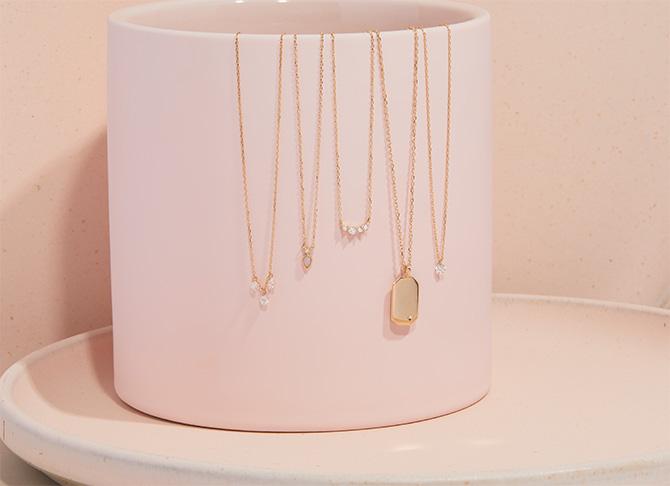 Gorjana necklaces