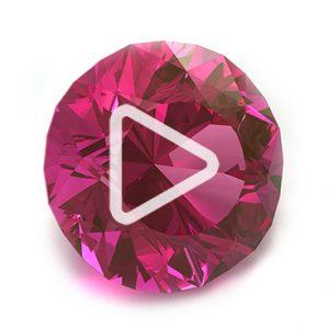 large colored gemstone