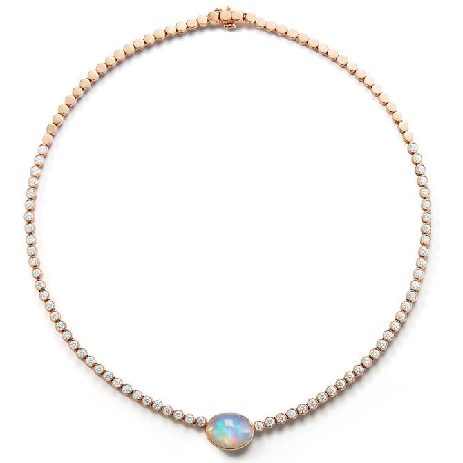 Jemma Wynne Prive Luxe opal necklace