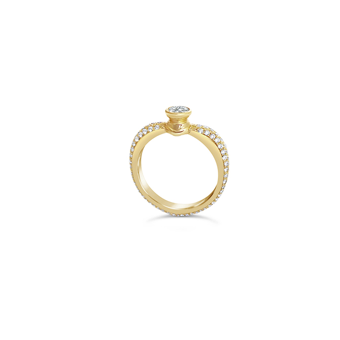 KatKim diamond ring