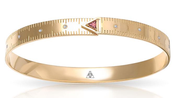 Maya Gemstones Ruler bracelet