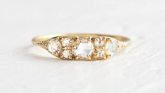 Melanie Casey Overture ring