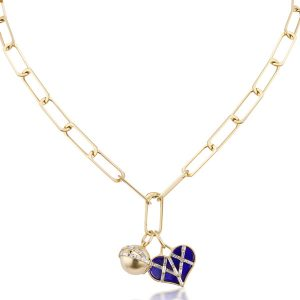 Michelle Fantaci Bonded Heart charm