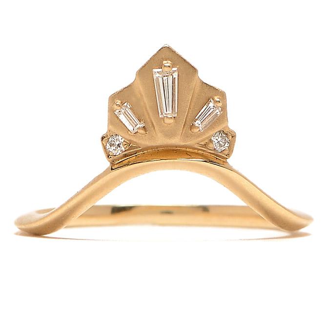 Michelle Fantaci Nomad diamond Fan ring