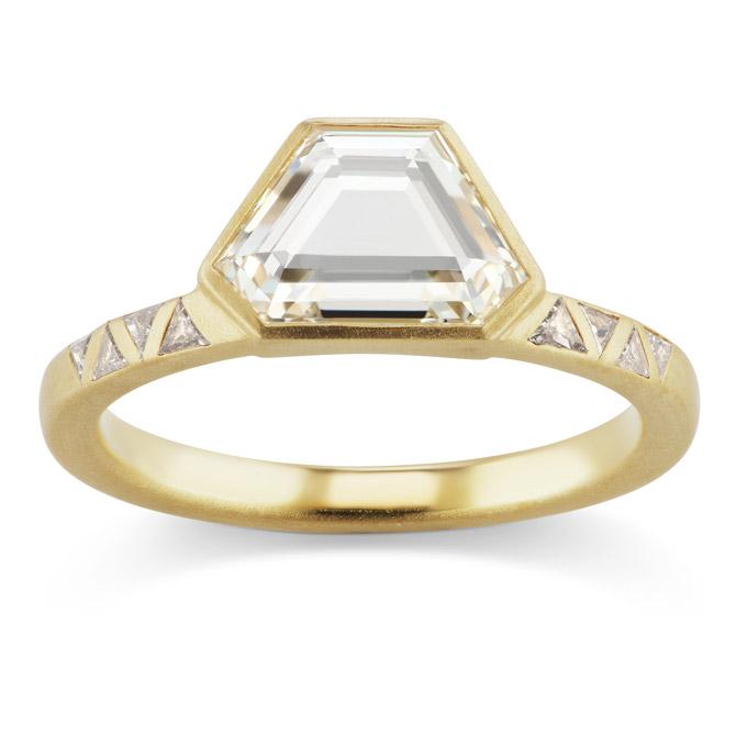 Michelle Fantaci Sabine engagement ring