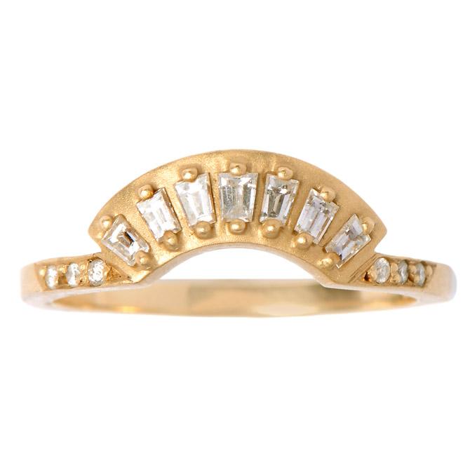 Michelle Fantaci diamond Sensu Fan ring