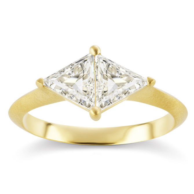 Michelle Fantaci double trillion ring
