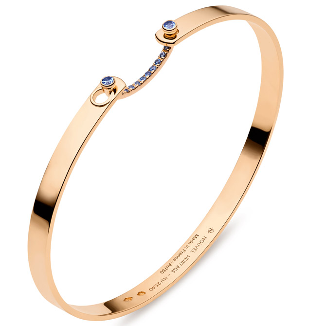 Nouvel Heritage sapphire bangle