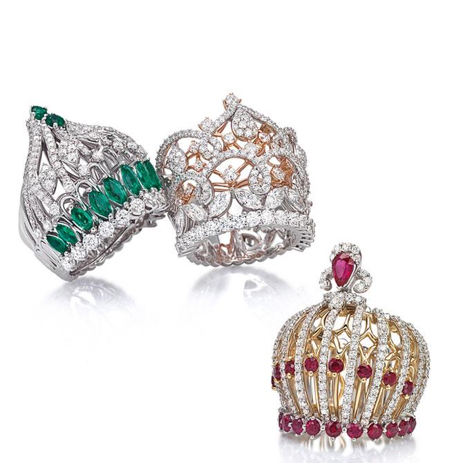 Oro Trend crown rings