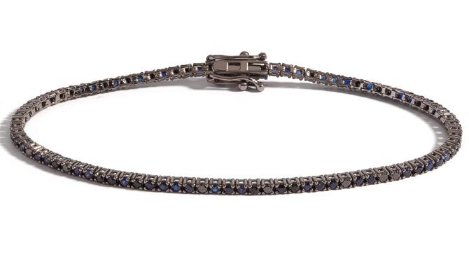 Selin Kent Ocean Blue tennis bracelet