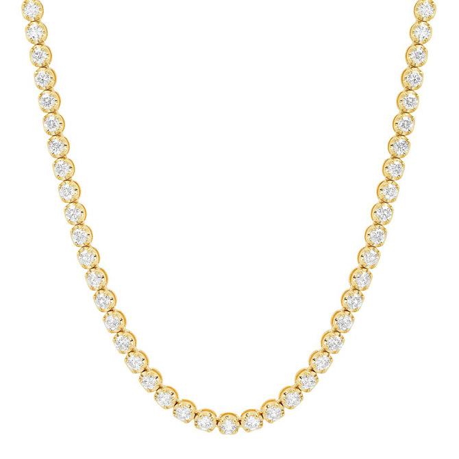Sig Ward diamond tennis necklace