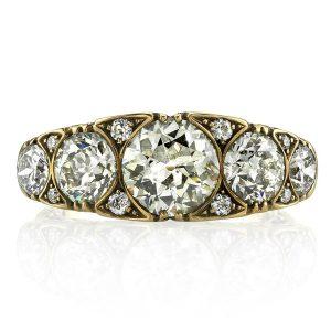 Single Stone Marguerite ring