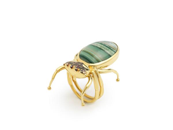 Spider ring Daniela Villegas