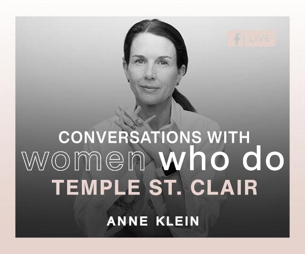 Temple St Clair Anne Klein