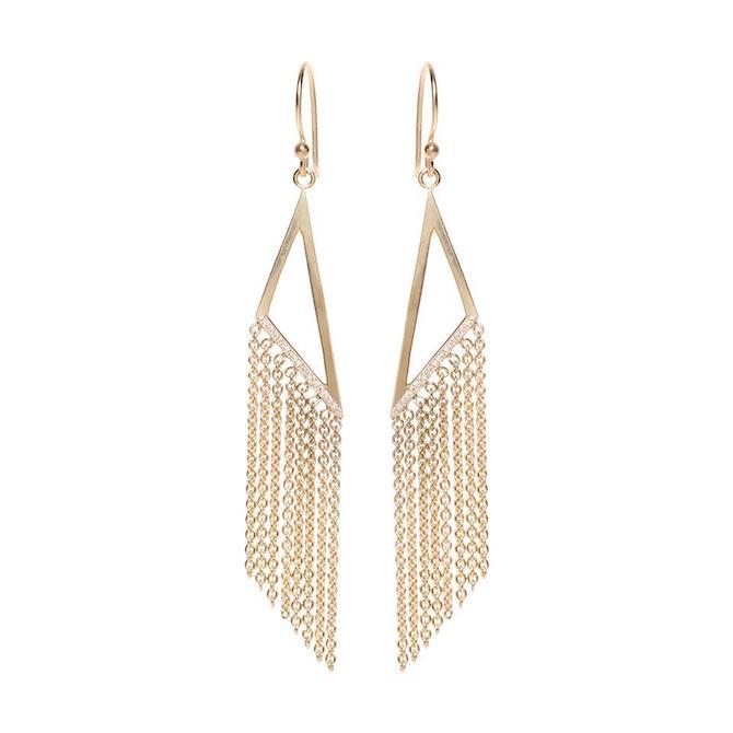 Zoe Chicco fringe earrings