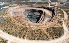 Karowe open pit