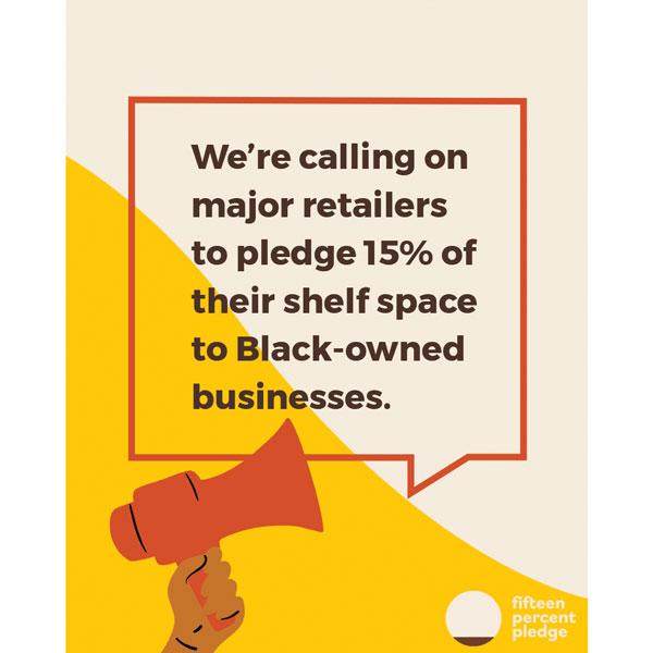 15 Percent Challenge Retailers Pledge