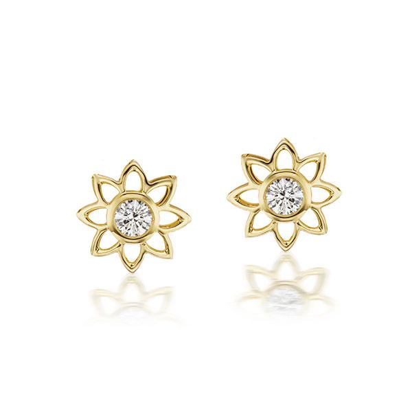 ARK Bliss diamond stud earrings