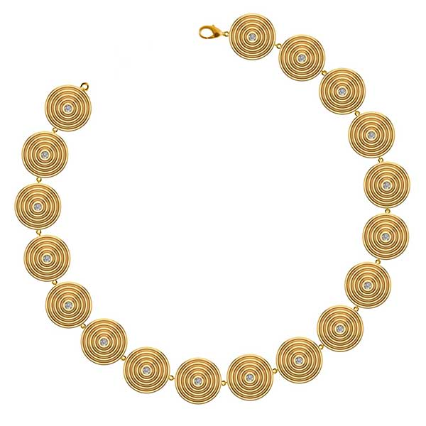 Almasika Sagesse Universum gold tennis bracelet