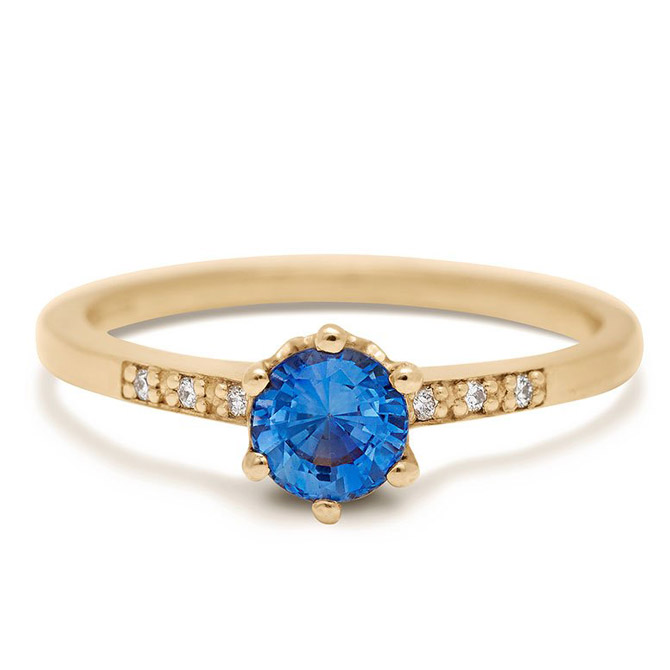 Anna Sheffield Hazeline engagement ring
