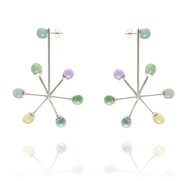 Aur Jewelry Axle shift earrings