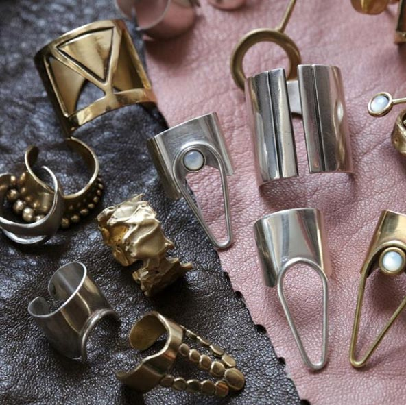 Aziza Handcrafted rings
