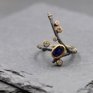 Balefire Goods sapphire ring conversion