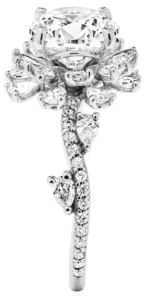 Brilliant Earth blooming rose engagement ring