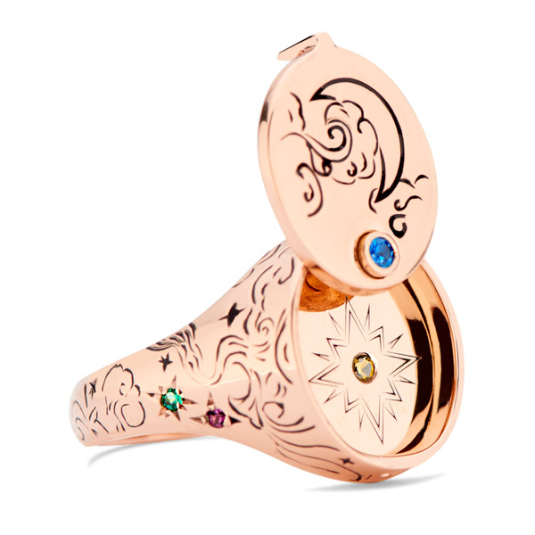 Dru Beacon Conversvatory signet ring
